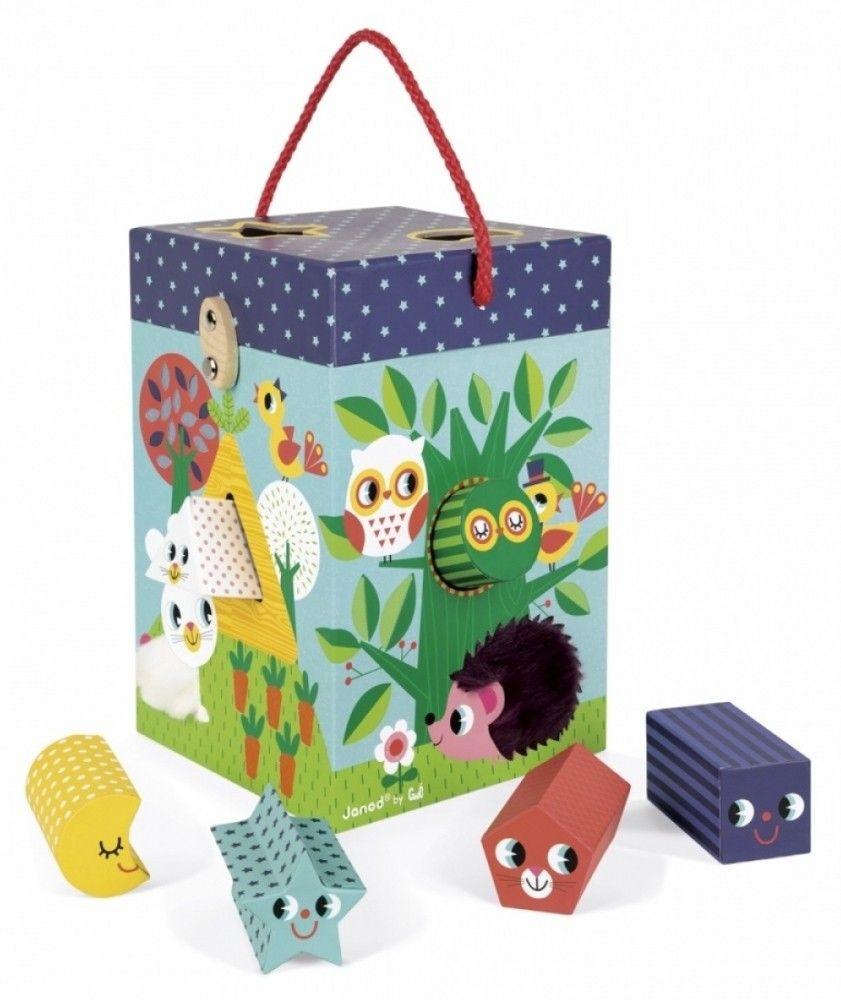 Купить Игрушки для малышей, Сортер Janod Сад (J02784)