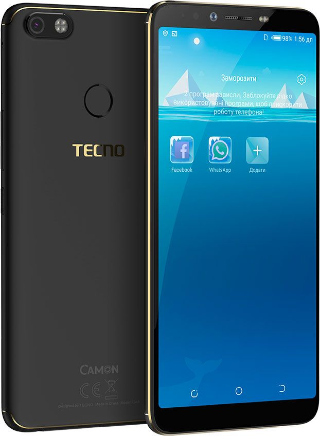 Купить Смартфон Tecno Camon X pro CA8 Dualsim (4895180732607) Midnight Black