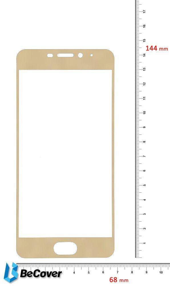 Купить Защитное стекло BeCover для Meizu M6 Gold (701709)
