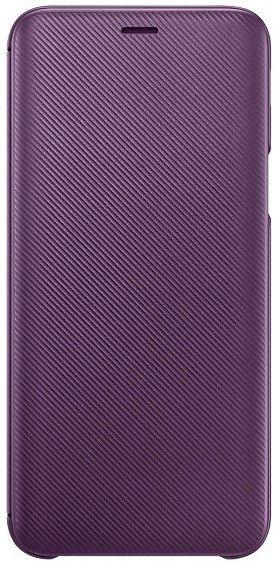 Купить Чехлы для мобильных телефонов, Чехол-книжка Samsung Wallet Cover для Samsung Galaxy J6 2018 (EF-WJ600CVEGRU) Violet