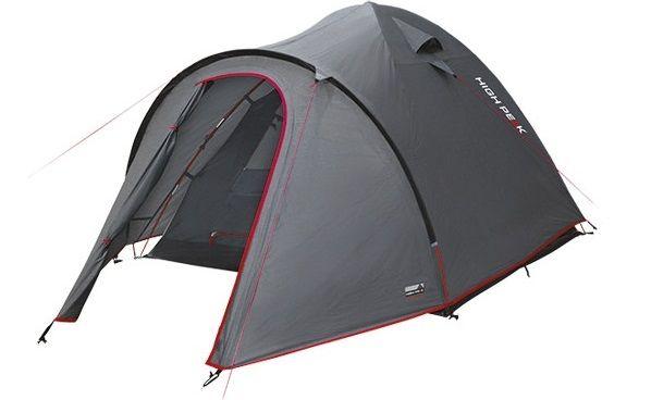 Купить Палатки и аксессуары, Палатка High Peak Nevada 5 (Dark Grey/Red)