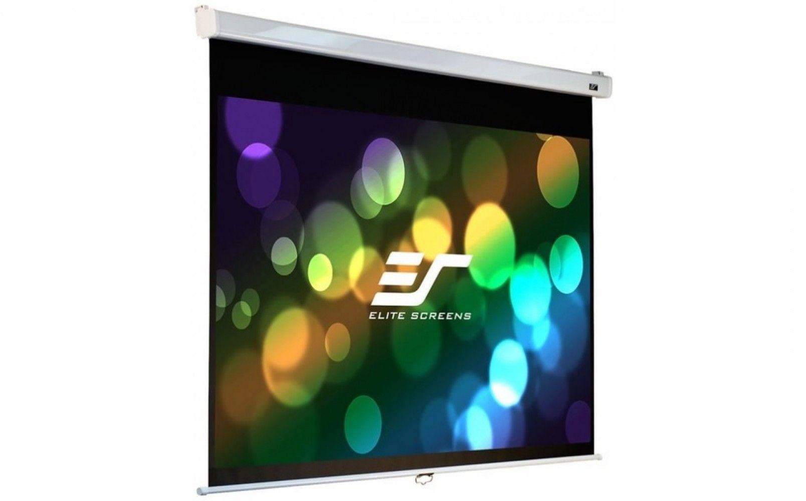 Купить Проекционный настенный экран Elite Screens (M100VSR-PRO) Premium SRM White Case