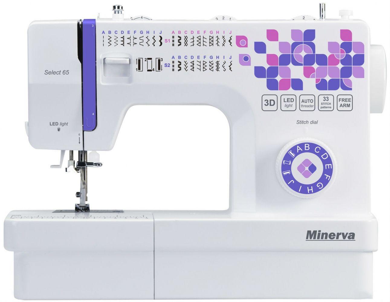 Купить Швейные машинки, Швейная машина Minerva Select 65
