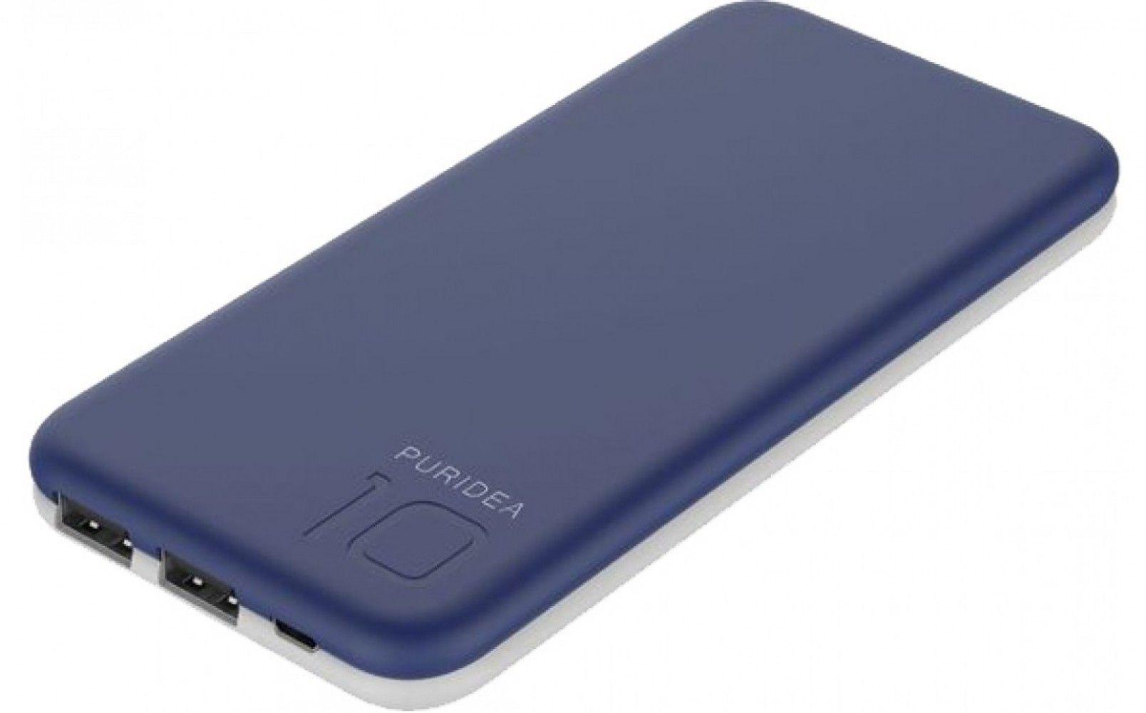 Купить Внешний аккумулятор Puridea S2 10000 mAh Blue/White (S2-Blue White)