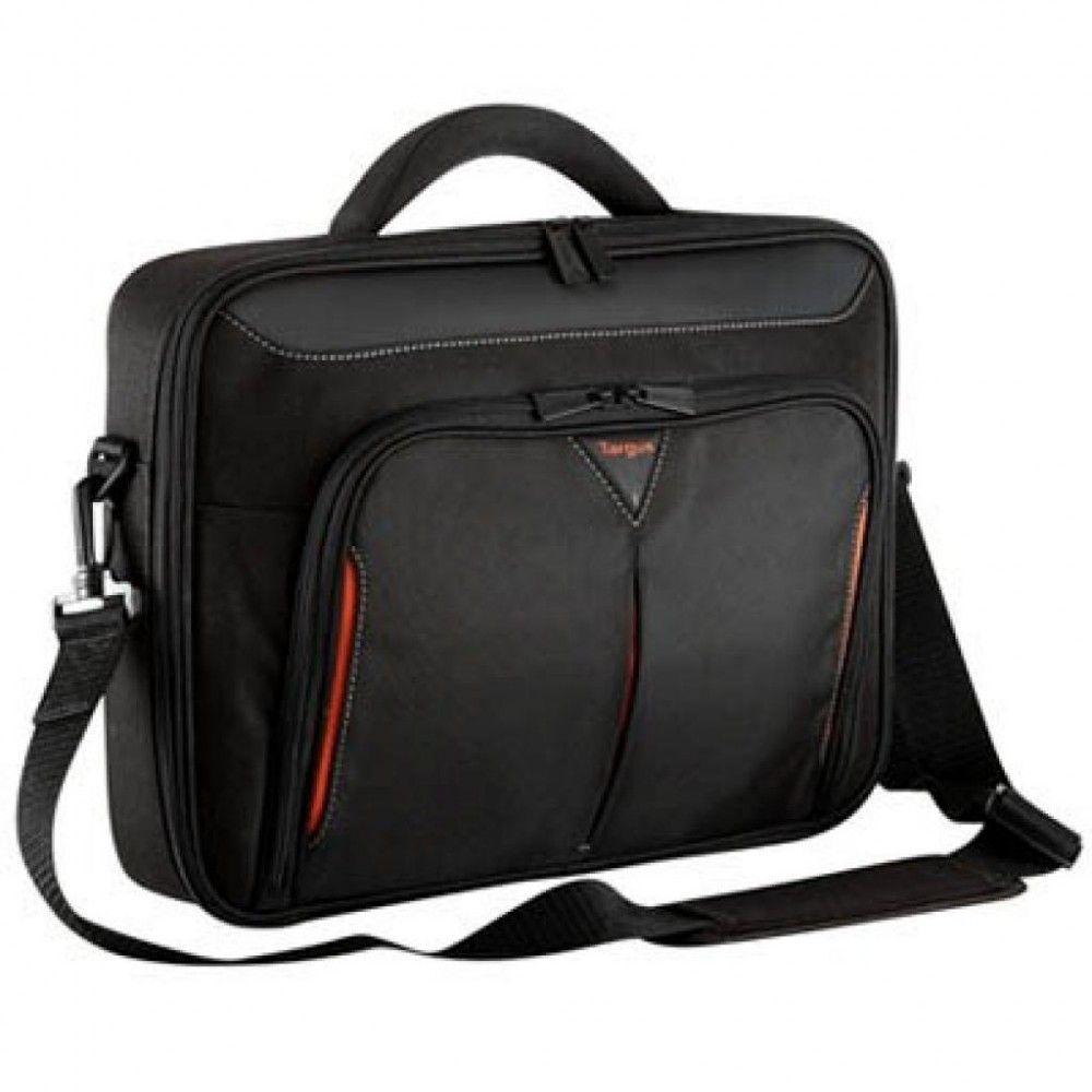 Купить Сумка для ноутбука Targus Classic Clamshell 15.6 Black/Red (CN415)