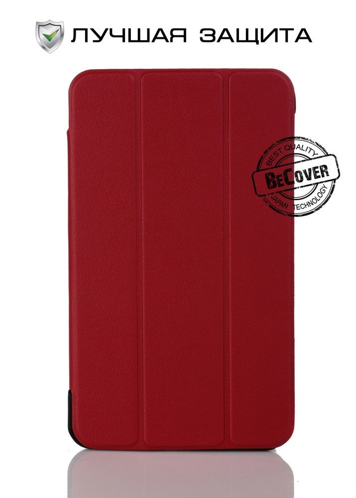 Чехол-книжка BeCover Smart Case для Samsung Tab 4 7.0 T230/T231 Red - 27023