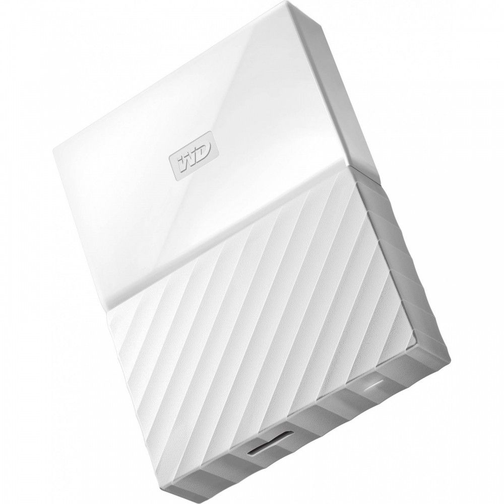 Жесткий диск Western Digital My Passport 4TB WDBYFT0040BWT-WESN 2.5 USB 3.0 External White  - купить со скидкой