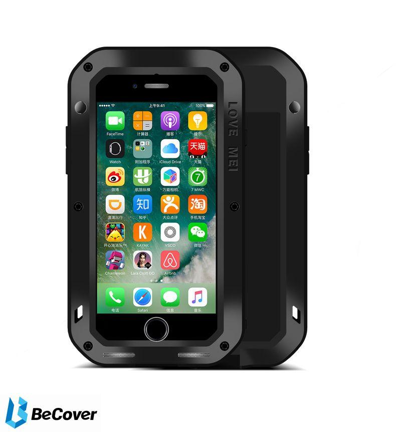 Панель Love Mei Powerful для Apple iPhone 7/8 (703116) Black от Територія твоєї техніки