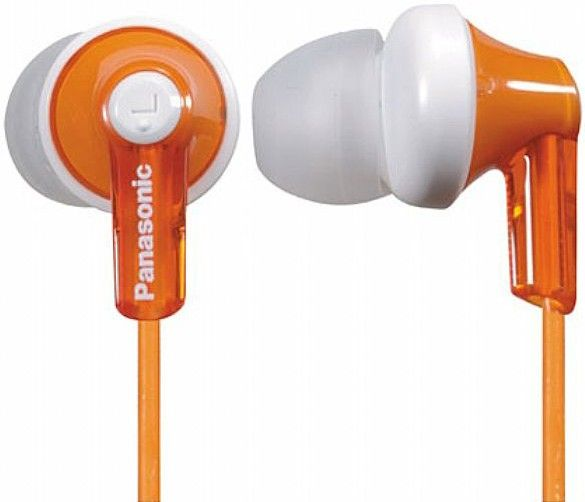 Купить Наушники Panasonic RP-HJE118GU-D Orange