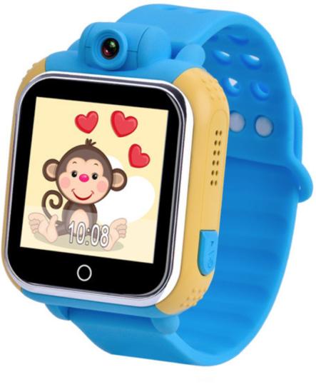 Купить Детские умные часы с GPS-трекером TD-07 (Q20) Blue, Smart Baby Watch