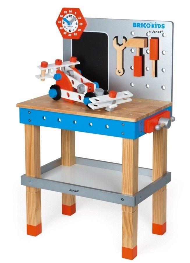 Купить Игровые наборы, Игровой набор Janod Мастерская (J06477)