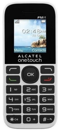Мобильный телефон Alcatel One Touch 1016D White