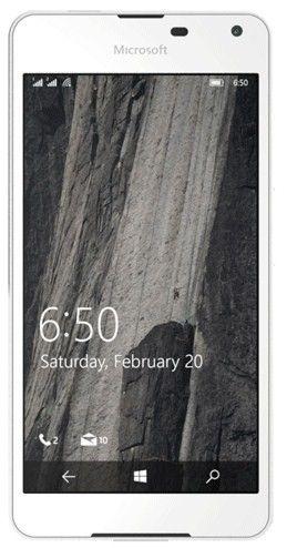 Мобильный телефон Microsoft Lumia 650 Single Sim White