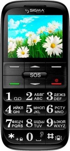 Мобильный телефон Sigma mobile Comfort 50 Slim Red-Black
