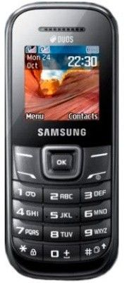 Мобильный телефон Samsung E1202 Duos Black
