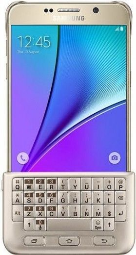 Чехол-клавиатура Samsung для Note 5 N920 Gold (EJ-CN920RFEGRU)