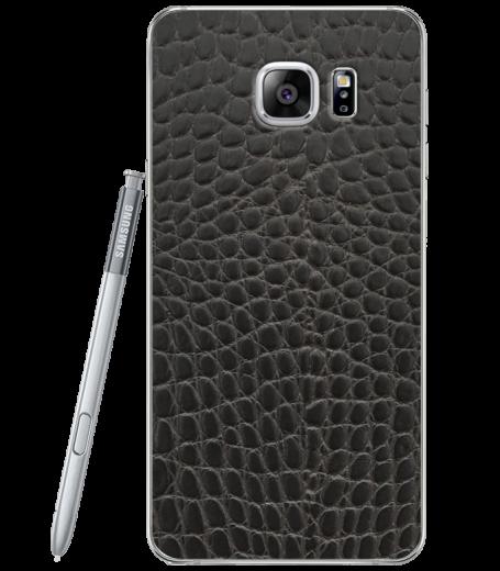 Кожаная наклейка Black Reptile  для Samsung Galaxy Note 5 (N920)
