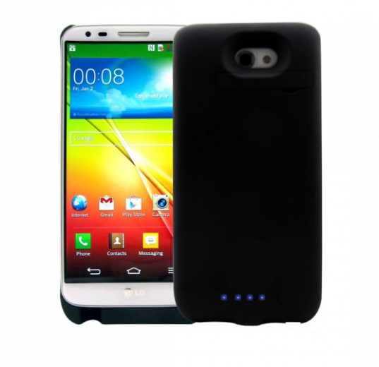 Чехол-аккумулятор AIRON Power Case для LG G2 Black (6946795860150)