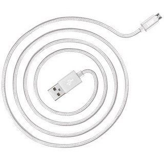 Кабель синхронизации Just Copper Micro USB Cable 1.2 м Silver (MCR-CPR12-SLVR)
