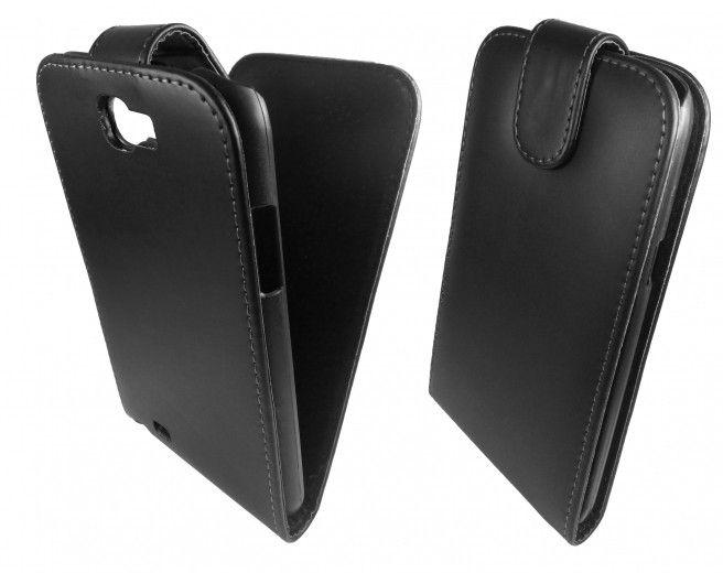 Чехол GlobalCase (Flip) для Samsung N7100 Black