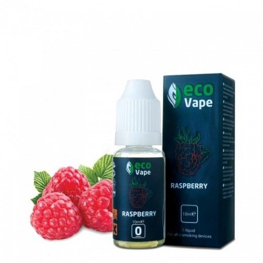 Жидкость для электронных сигарет ECO Vape Raspberries 12мг/мл