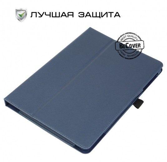 Чехол BeCover Slimbook для Asus ZenPad 10 Z300 Navy Blue