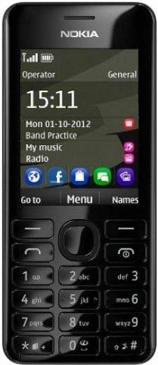 Мобильный телефон Nokia 206 Asha Dual Sim Black