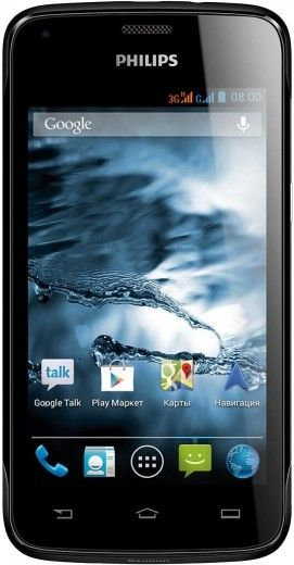 Мобильный телефон PHILIPS Xenium W3568 Black