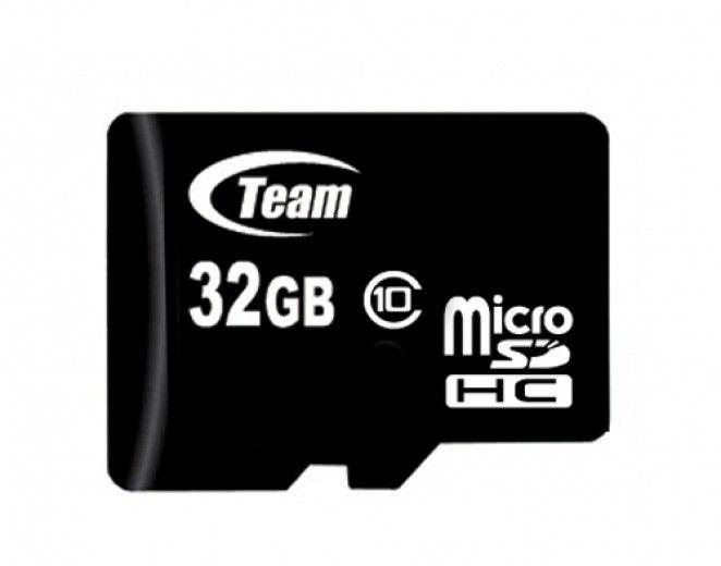 Карта памяти Team 32 GB Micro SD сlass 10