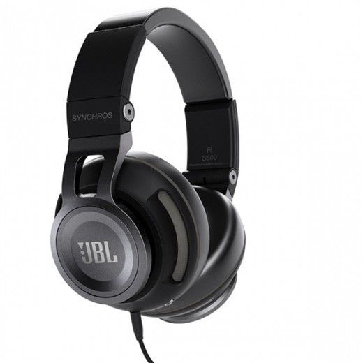 Навушники JBL Over-Ear Headphone Synchros S500 Black (SYNAE500BLK)