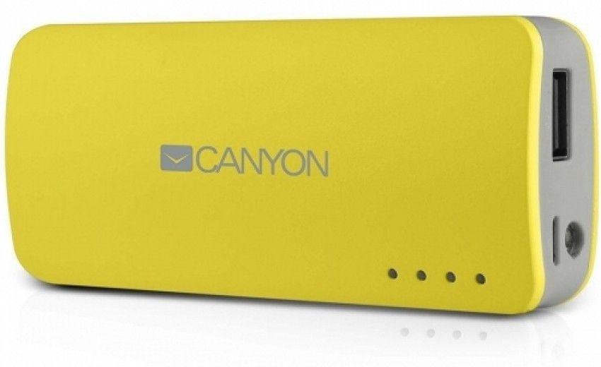 Портативная батарея CANYON CNE-CPB44Y 4400mAh Yellow