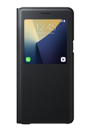 Чехол Samsung S View Cover для Samsung Galaxy Note 7 Black (EF-CN930PBEGRU)