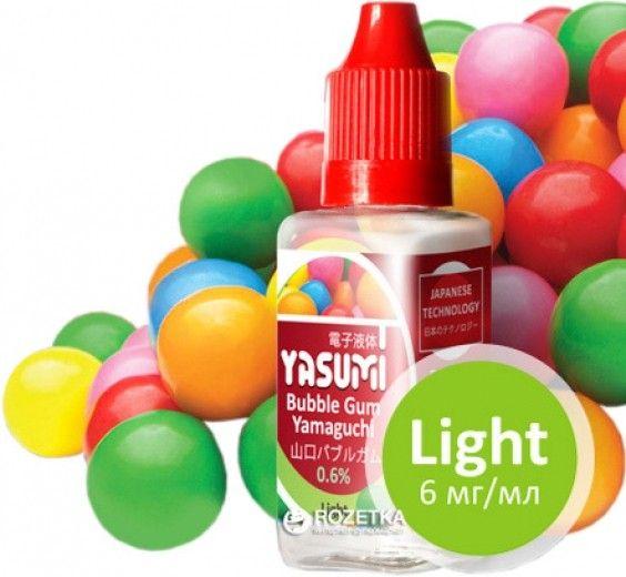 Жидкость для электронных сигарет Yasumi Bubble Gum Yamaguchi 6 мг/мл