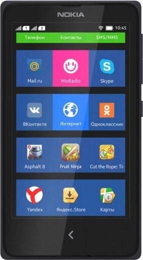 Мобильный телефон Nokia X Dual SIM Black