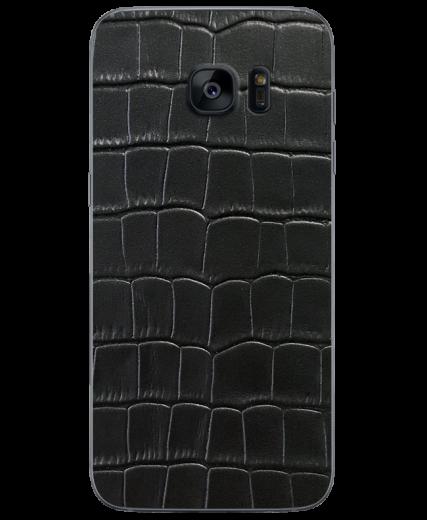 Кожаная наклейка Classic Croco  для Samsung Galaxy S7 edge (G935)