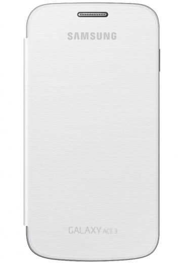 Чехол Samsung для Galaxy Ace 3 S7272 (EF-FS727BWEGWW) White