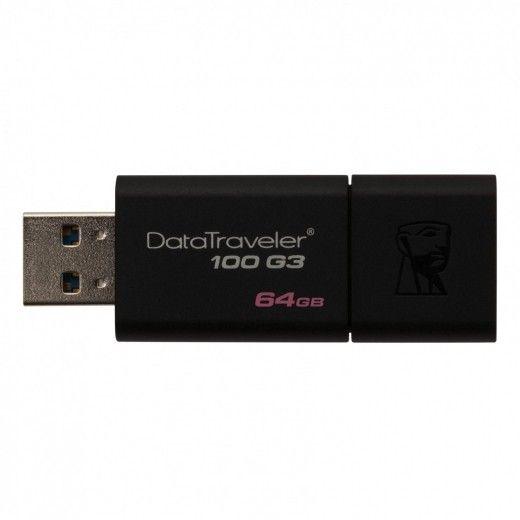 USB флеш накопичувач Kingston DataTraveler 100 G3 64GB USB 3.0 (DT100G3/64GB)