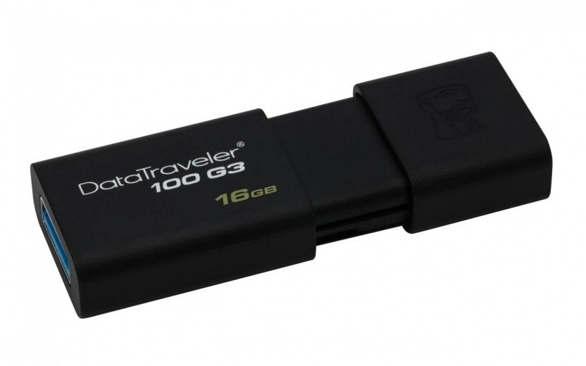 USB флеш накопитель Kingston DataTraveler 100 G3 16GB USB 3.0 (DT100G3/16GB)