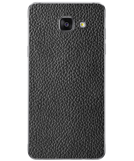 Кожаная наклейка Classic Black для Samsung Galaxy A7 (2016)