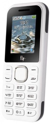 Мобильный телефон Fly DS107D White