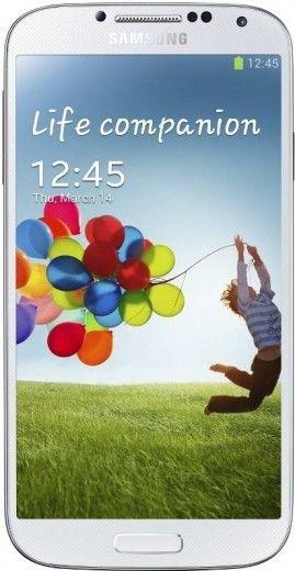 Смартфон Samsung I9500 Galaxy S4 White Frost