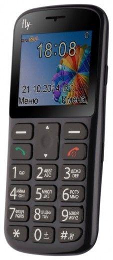 Мобильный телефон Fly Ezzy 6 Black