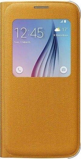 Чехол Samsung S View Zero для Samsung Galaxy S6 Yellow (EF-CG920BYEGRU)