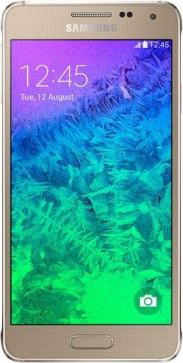 Мобильный телефон Samsung Galaxy Alpha G850F Frosted Gold