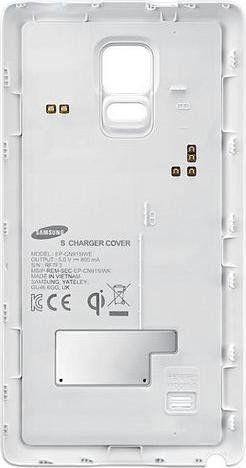 Задняя крышка Samsung Charger Cover EP-CN915IWRGRU White для Galaxy Note Edge