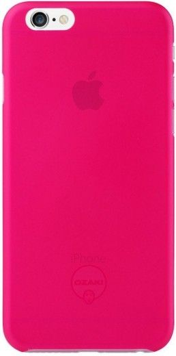 Ozaki O!coat-0.3-Jelly для iPhone 6 Pink (OC555PK)