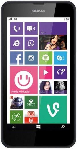 Мобильный телефон Nokia Lumia 630 Dual SIM Black
