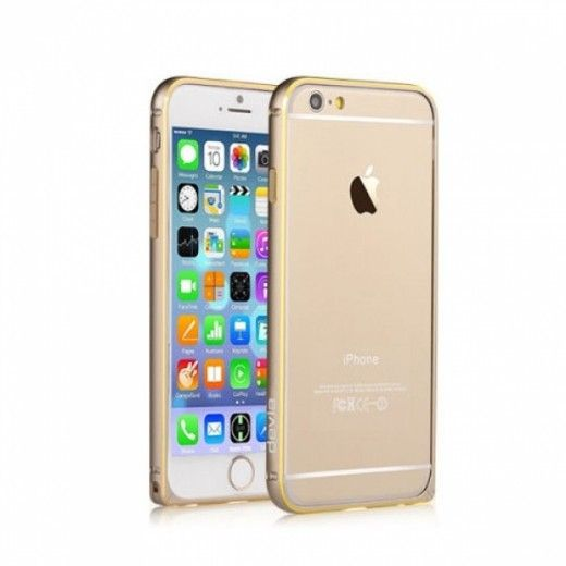 Бампер Devia для iPhone 6 Buckle Curve Champagne Gold (a-3532)