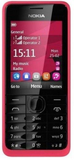 Мобильный телефон Nokia 301 Dual Sim Fuchsia