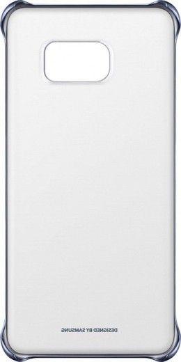Чехол Samsung Clear Cover для Samsung Galaxy S6 edge+ BlueBlack (EF-QG928CBEGRU)